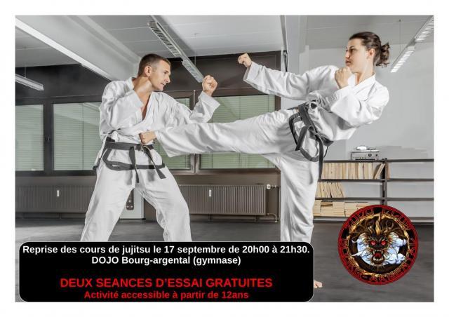Affiche jujitsu